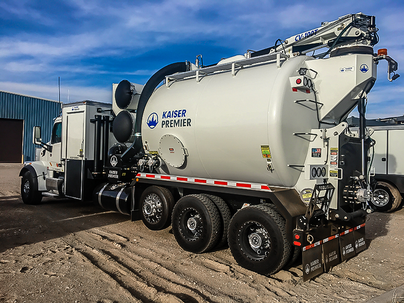 cv series hydrovac trucks